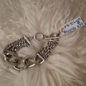 """Premier Designs """"Link to Link"""" bracelet"""